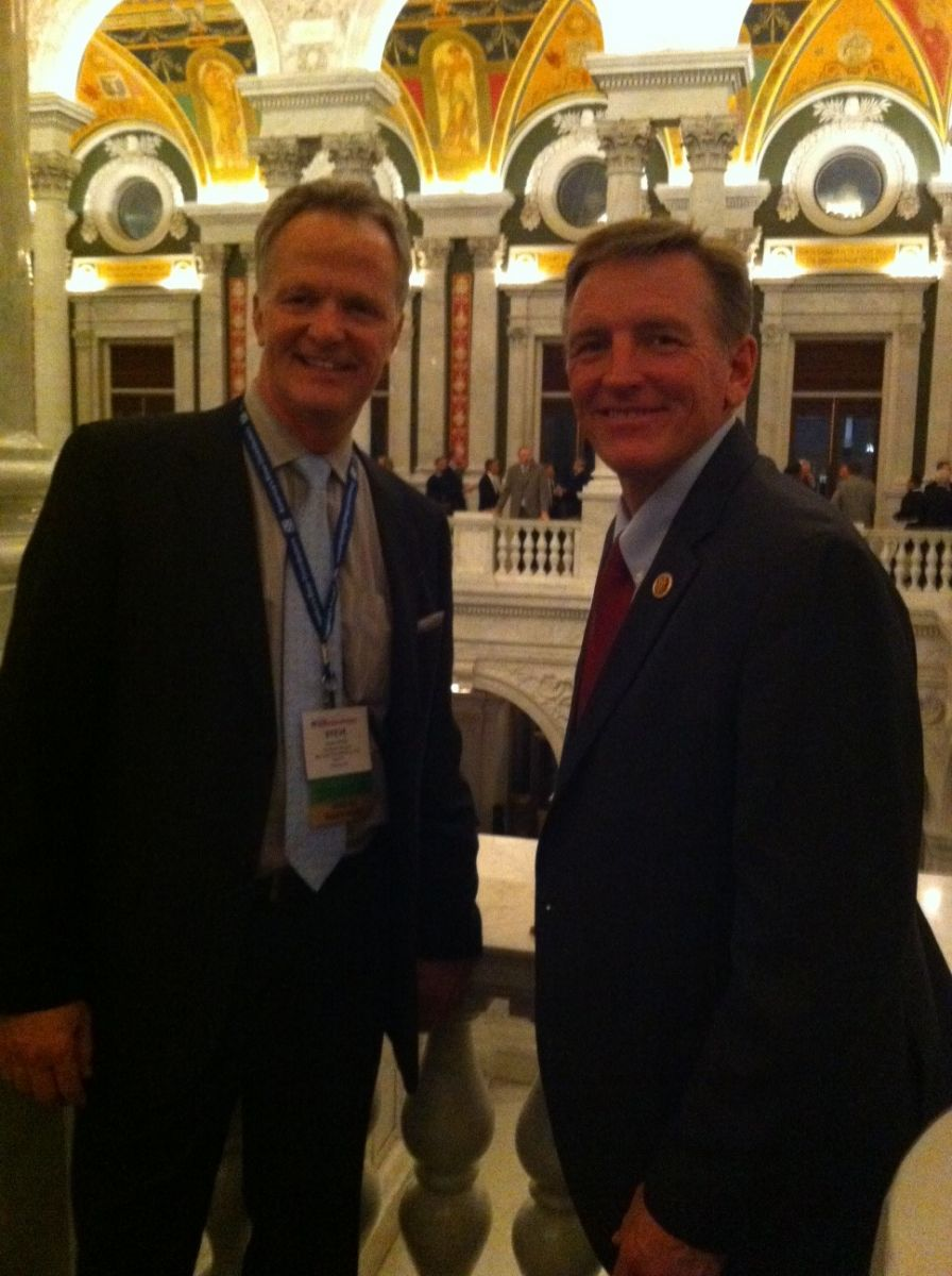 Rep. Paul Gosar with Steve Barclay of BWDA